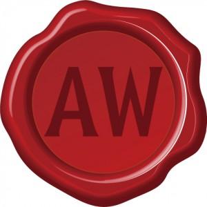 AWlogo赤